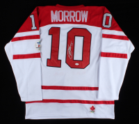 Brenden Morrow Signed Team Canada Jersey (JSA COA) at PristineAuction.com