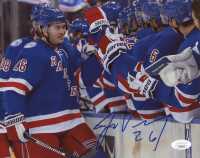 Jimmy Vesey Signed Rangers 8x10 Photo (JSA COA) at PristineAuction.com