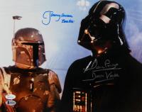 "David Prowse & Jeremy Bulloch Signed ""Star Wars: The Empire Strikes Back"" 11x14 Photo Inscribed ""Darth Vader"" & ""Boba Fett"" (JSA COA & Beckett COA) at PristineAuction.com"