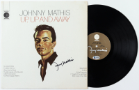"""Johnny Mathis Twice-Signed """"Up, Up And Away"""" Vinyl Record Album (Beckett COA & JSA COA) at PristineAuction.com"""