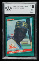 Barry Bonds 1986 Donruss Rookies #11 RC (BCCG 10) at PristineAuction.com
