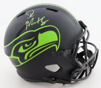 DK Metcalf Signed Seahawks Full-Size Eclipse Alternate Speed Helmet (Mill Creak Sports Hologram) at PristineAuction.com