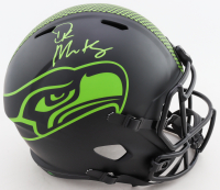 DK Metcalf Signed Seahawks Full-Size Eclipse Alternate Speed Helmet (Mill Creek Sports Hologram) at PristineAuction.com