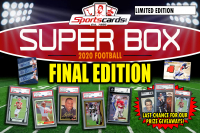 "Sportscards.com ""SUPER BOX"" FOOTBALL FINAL Edition Mystery Box **FINAL SERIES** at PristineAuction.com"