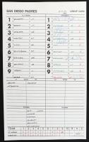 Felix Pie Signed 2003 Lansing Lugnuts Batting Order Lineup Card (JSA LOA) (See Description) at PristineAuction.com