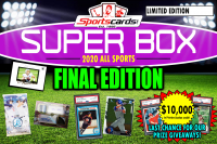 "Sportscards.com ""SUPER BOX"" ALL SPORTS FINAL Edition Mystery Box -FINAL SERIES! at PristineAuction.com"