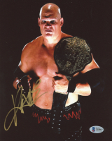 Kane Signed WWE 8x10 Photo (Beckett COA) at PristineAuction.com