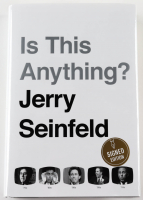 """Jerry Seinfeld Signed """"Is This Anything?"""" Hardcover Book (PSA COA) at PristineAuction.com"""