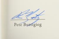 "Pete Buttigieg Signed ""Trust"" Hardcover Book (PSA COA) (See Description) at PristineAuction.com"