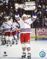 Mark Messier Signed Rangers 8x10 Photo (JSA COA) at PristineAuction.com