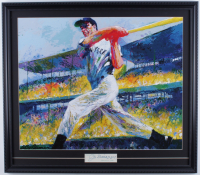 Joe DiMaggio Signed Yankees 22x24.75 Custom Framed Cut Display (JSA ALOA) at PristineAuction.com