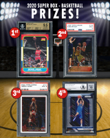 """Sportscards.com """"SUPER BOX"""" BASKETBALL FINAL Edition Mystery Box **FINAL SERIES** at PristineAuction.com"""