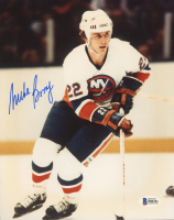 Mike Bossy Signed Islanders 8x10 Photo (Beckett COA) at PristineAuction.com