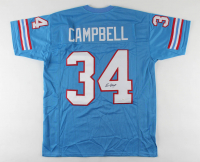 Earl Campbell Signed Jersey (JSA COA) at PristineAuction.com