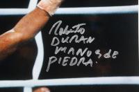 "Roberto Duran Signed 16x20 Photo Inscribed ""Manos De Piedra"" (Beckett COA) at PristineAuction.com"