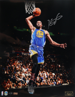 "Kevin Durant Signed Golden State Warriors ""Slam Dunk"" LE 16x20 Photo (Panini COA) at PristineAuction.com"