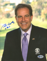 "Jim Nantz Signed 8x10 Photo Inscribed ""CBS"" (Beckett COA) at PristineAuction.com"
