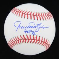 """Rollie Fingers Signed OML Baseball Inscribed """"HOF 92"""" (JSA COA) at PristineAuction.com"""