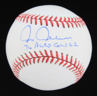 "Chris Chambliss Signed OML Baseball Inscribed ""76 ALCS GW HR"" (JSA COA) at PristineAuction.com"