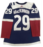Nathan MacKinnon Signed Avalanche Jersey (Fanatics Hologram) at PristineAuction.com