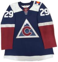 Nathan MacKinnon Signed Avalanche Jersey (Fanatics Hologram) at PristineAuction.com