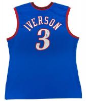 Allen Iverson Signed 76ers Jersey (Fanatics Hologram) at PristineAuction.com