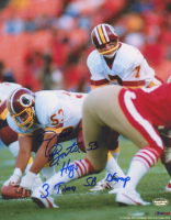 "Jeff Bostic Signed Washington 8x10 Photo Inscribed ""Hogs"" & ""3 Times SB Champ"" (Schwartz COA) at PristineAuction.com"
