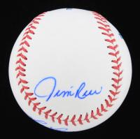 Jim Rice, Fred Lynn & Dwight Evans Signed OML Baseball (JSA COA) at PristineAuction.com