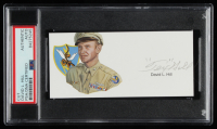 Tex Hill Signed 2x5 Cut (PSA Encapsulated) at PristineAuction.com