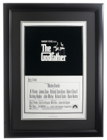"""""""The Godfather"""" 16x20 Custom Framed Photo Display at PristineAuction.com"""
