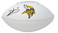Daunte Culpepper Signed Vikings Logo Football (JSA COA) at PristineAuction.com