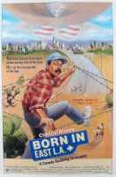 """Cheech Marin Signed """"Born in East L.A."""" 27x41 Movie Poster (Beckett COA) (See Description) at PristineAuction.com"""