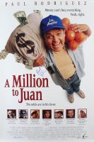 "Paul Rodriguez Signed ""A Million to Juan"" 27x40 Movie Poster (Beckett COA) (See Description) at PristineAuction.com"