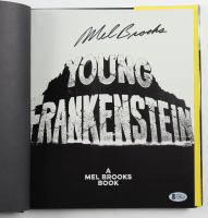 """Mel Brooks Signed """"Young Frankenstein"""" Hardcover Book (Beckett COA) at PristineAuction.com"""