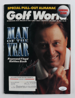 "Raymond Floyd Signed 1992 ""Golf World"" Magazine (JSA COA) at PristineAuction.com"