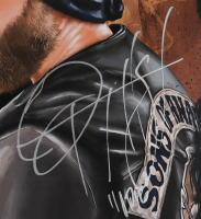 """Ryan Hurst Signed """"Sons of Anarchy"""" 13x19 Print Inscribed """"Opie"""" (Beckett COA) at PristineAuction.com"""