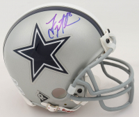Troy Aikman Signed Cowboys Mini Helmet (Beckett COA) (See Description) at PristineAuction.com