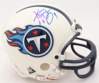 Steve McNair Signed Titans Mini Helmet (Beckett COA) at PristineAuction.com