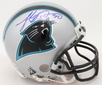 Julius Peppers Signed Panthers Mini Helmet (Beckett COA) at PristineAuction.com