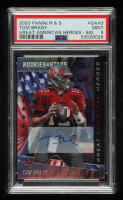 Tom Brady 2020 Rookies and Stars Great American Heroes Signatures #3 (PSA 9) at PristineAuction.com