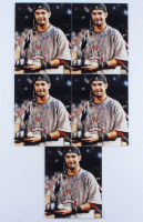 Lot of (5) Mike Lowell Signed Red Sox 8x10 Photos (Hollywood Collectibles Hologram) at PristineAuction.com