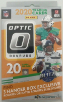 2020 Panini Donruss Optic NFL Football Hanger Box with (20) Cards at PristineAuction.com