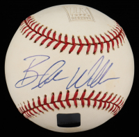 Blake Williams Signed Topps Reserve OML Baseball with Display Case (Topps Hologram) (See Description) at PristineAuction.com