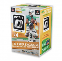 2020 Donruss Optic Football Blaster Box with (24) Cards at PristineAuction.com