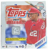 2021 Topps Baseball Series 1 MEGA Box with (16) Packs at PristineAuction.com