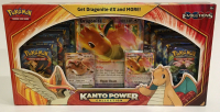 Pokemon Kanto Power Collection Dragonite RED Box XY Evolutions Boosters with (10) Packs at PristineAuction.com
