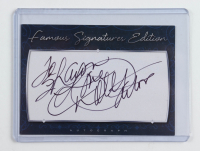 "Dolly Parton Signed 2.5x3.5 Cut Inscribed ""Love"" (Beckett COA) at PristineAuction.com"