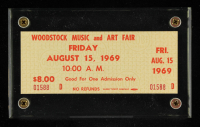 Woodstock Authentic One Day Unused Ticket from August 15, 1969 at PristineAuction.com
