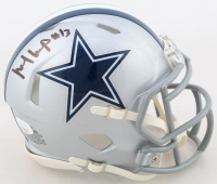 Michael Gallup Signed Cowboys Speed Mini Helmet (JSA COA) at PristineAuction.com
