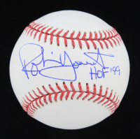 "Robin Yount Signed OML Baseball Inscribed ""HOF '99"" (JSA COA) at PristineAuction.com"